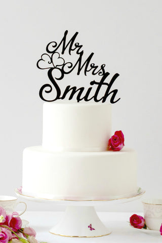 wedding cake, personalised cake topper