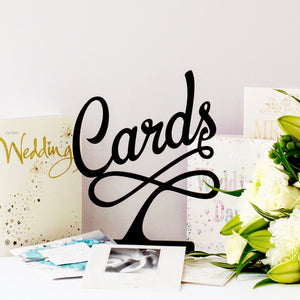 Wedding Card Sign, Card Sign for Celebrations (FREE SHIPPING)