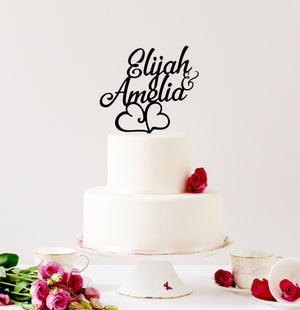 First Name, Customed Designed Cake Topper