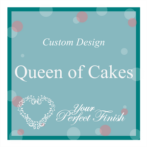 Bespoke Cake Topper for Queen of Cakes