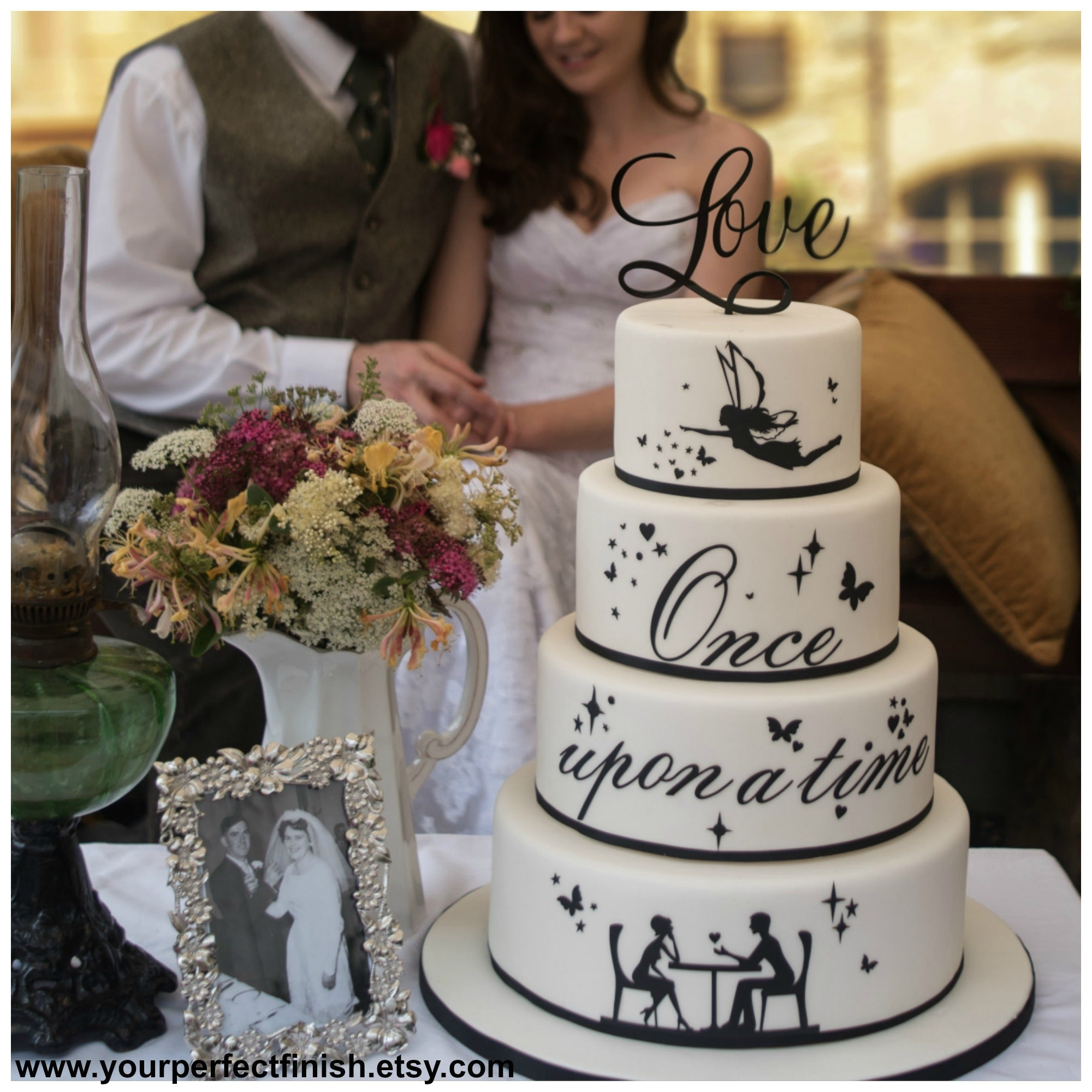 Worded Cake Toppers