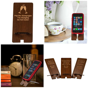 Phone Stand Favour - Thank you, pack of 10