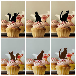 Cat Mixed Set Cupcake Toppers