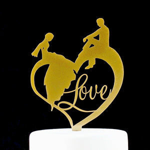 Fairytale Wedding Cake Topper
