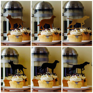 Dog Cupcake Toppers (FREE SHIPPING)