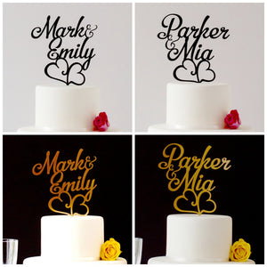 First Name, Customed Designed Cake Topper (FREE SHIPPING)