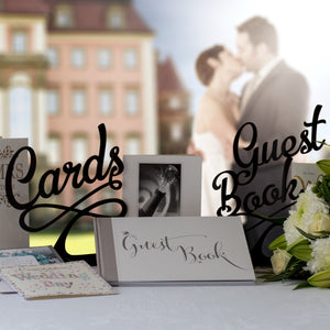 Guest Book Wedding Sign (FREE SHIPPING)