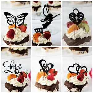 Summer Love Cupcake Toppers