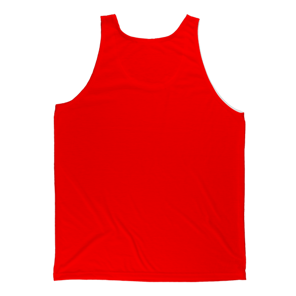 Haitian Thing - Red Classic Sublimation Adult Tank Top