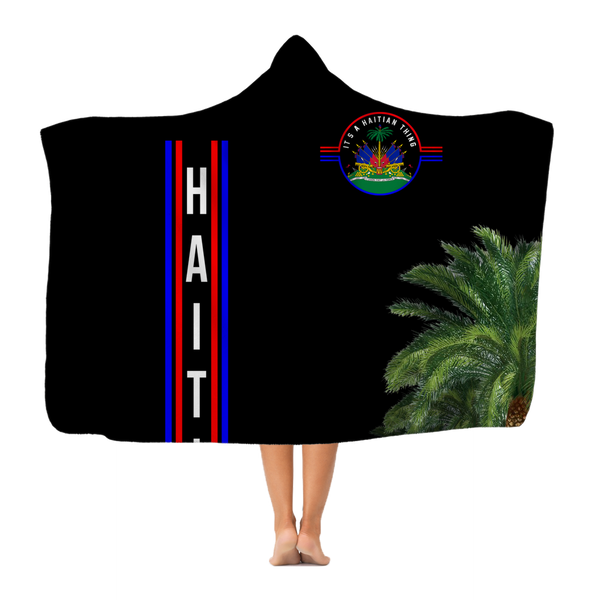Haiti Classic Adult Hooded Blanket