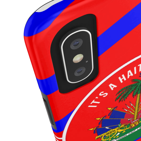 Haitian Thing(Red) Tough Cases