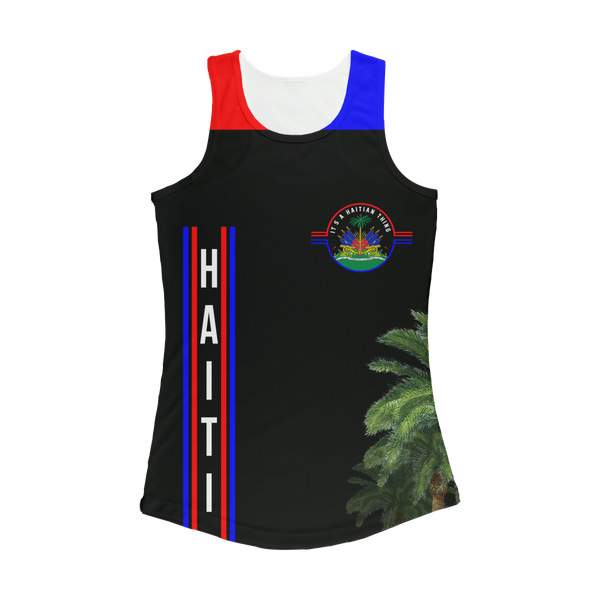 Haiti Women Performance Tank Top