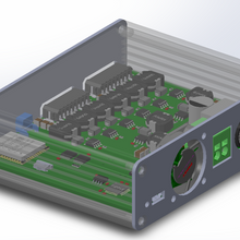 Integrated: 8 Channel LED Driver and Controller