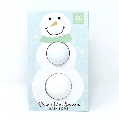 Double Snowman Bath Bomb Bag