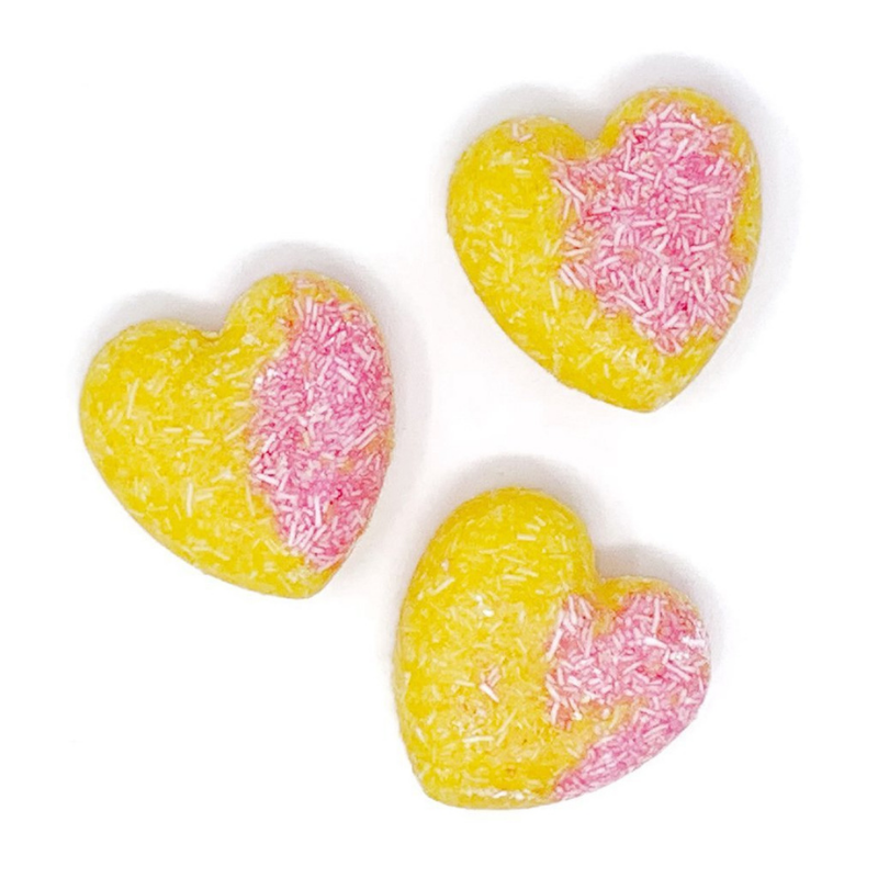Strawberry Lemonade Heart Shampoo + Conditioner Bar