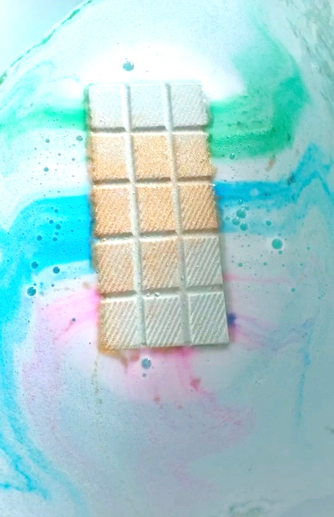 Break Out The Bubble Rainbow Bath Bar