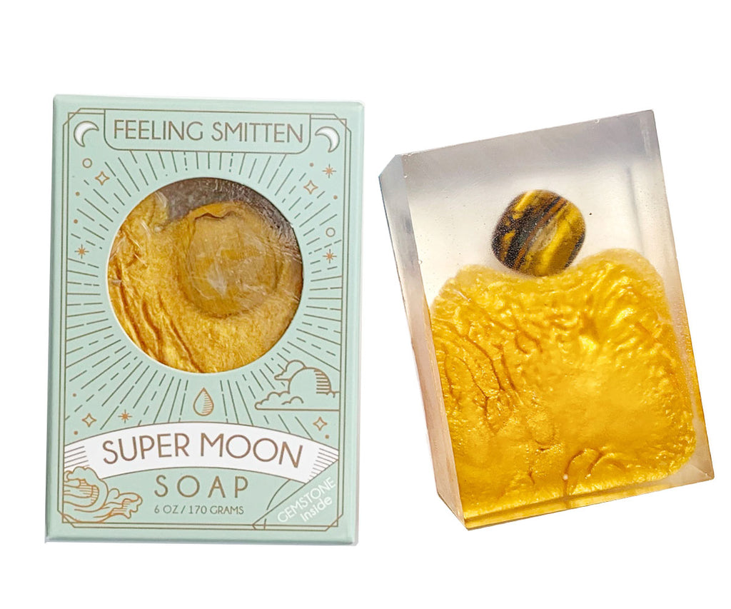 Super Moon Soap with Tiger's Eye