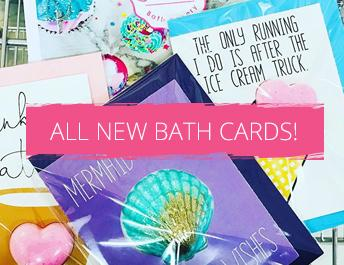 Feeling Smitten Bath Bomb Cards