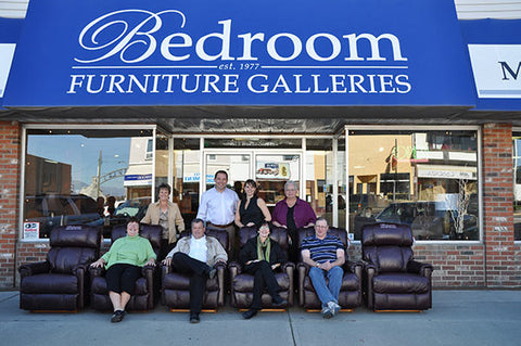 Pictured Above: The Bedroom Furniture Galleries Partnered With The East  Kootenay Foundation For Health, And The Cranbrook Mall To Supply Six  Leather ...