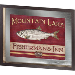 Custom Lodge Sign II Fishing Lodge