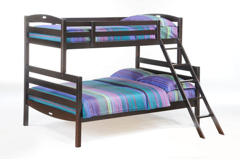 Bunk Bed Twin over Double - Chocolate