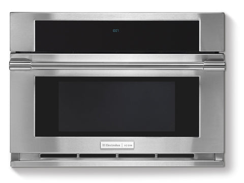 electrolux icon 15 cu ft builtin microwave with dropdown
