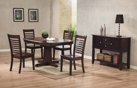 Winners Only Sante Fe 5 Piece Pedestal Dining