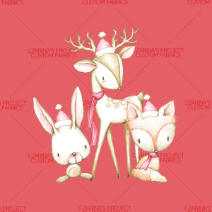 Retail: Panels - Woodland Friends {Winter/Holiday}