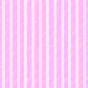 Retail - LOL Doll Pink Stripes Coordinating Fabric