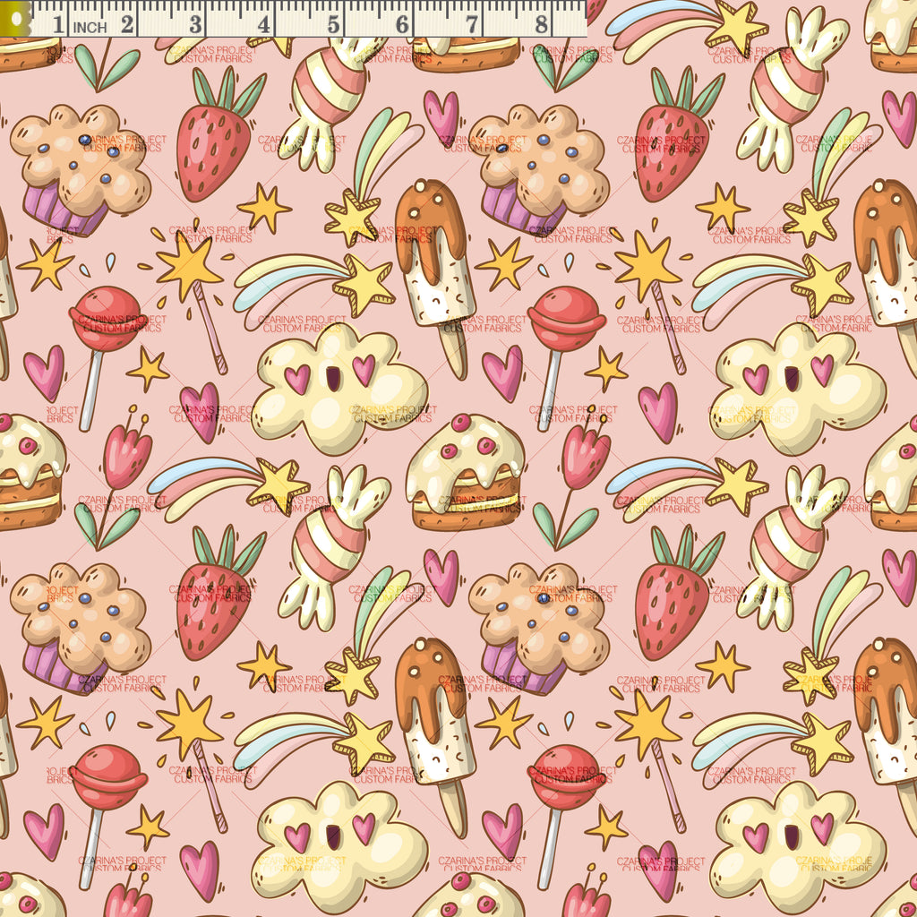 Retail: Sweet Treats Doodle in Peach