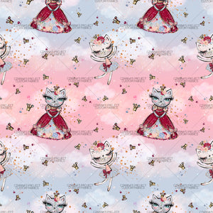 Retail - Ballerina + Purrincess Main Fabric