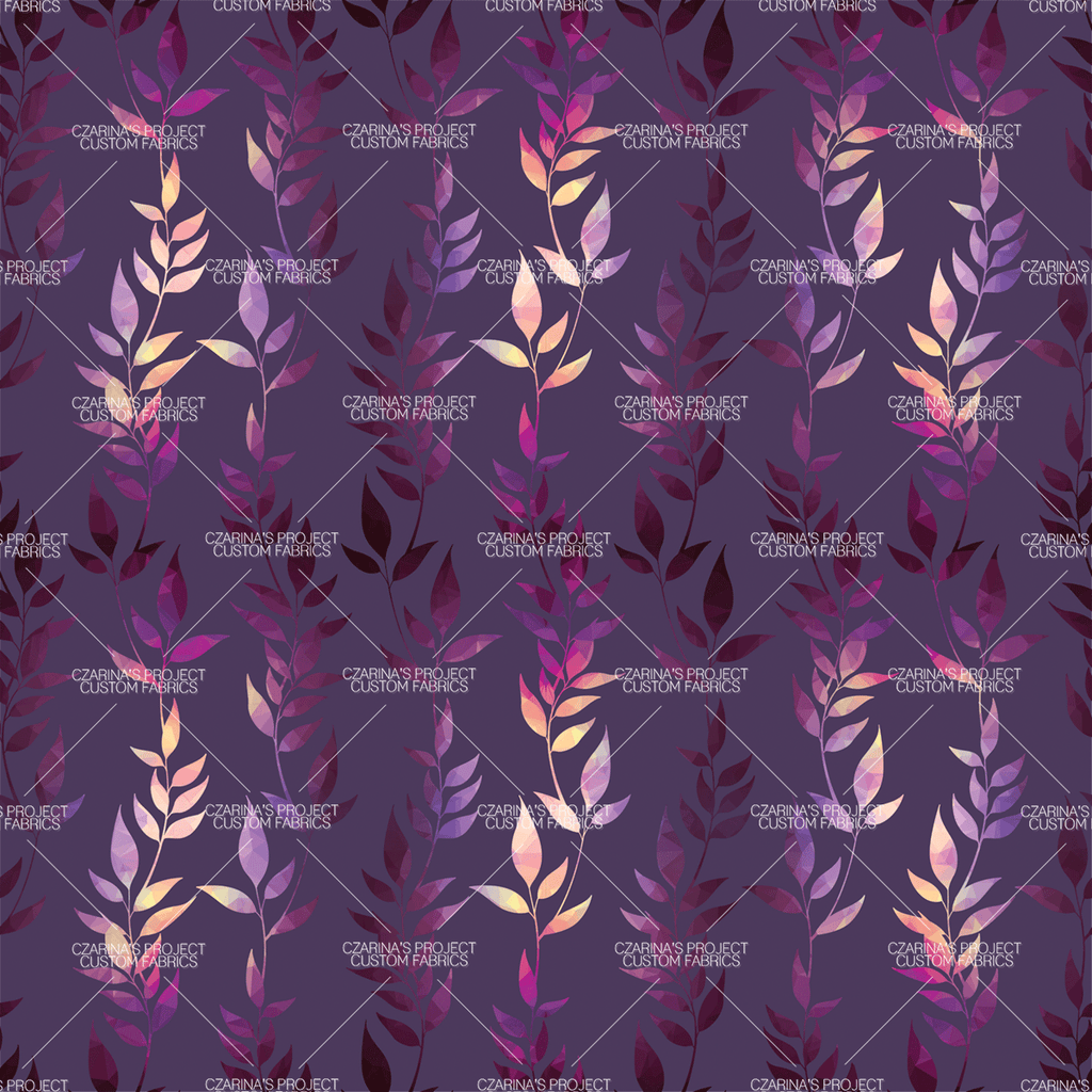 Retail - Mosaic Trellis Coordinating Fabric in Eggplant