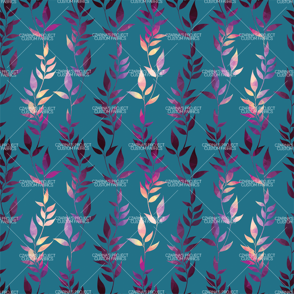 Retail - Mosaic Trellis Coordinating Fabric in Teal