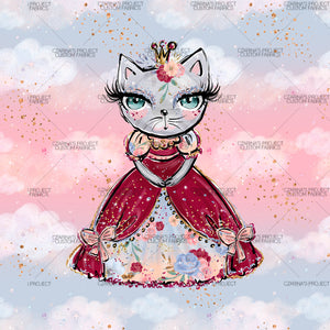 Retail - Purrincess on Pink Panel