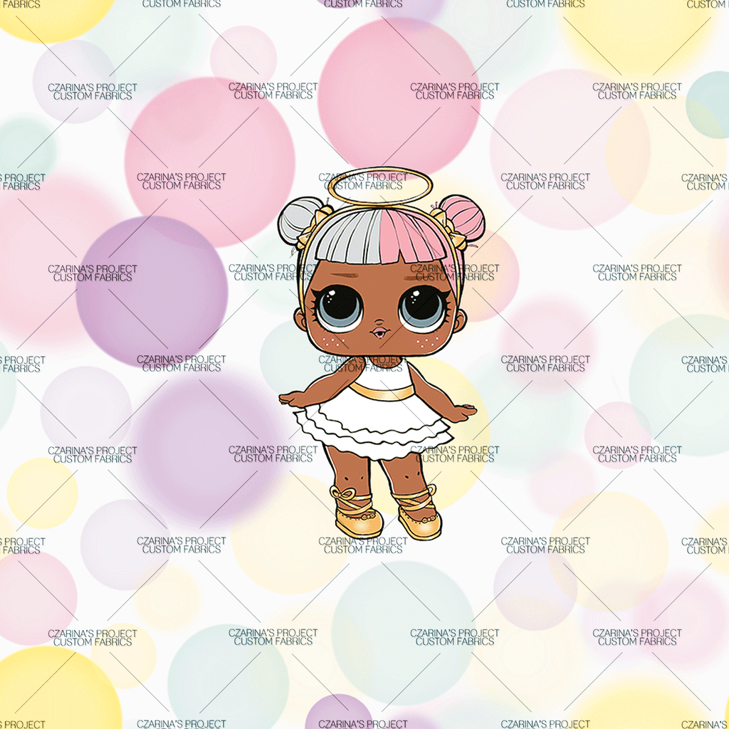 Retail - LOL Doll Pastel Bokeh Sugar Panel