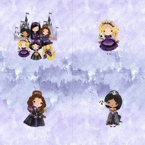 Retail: Halloween Princess Panels