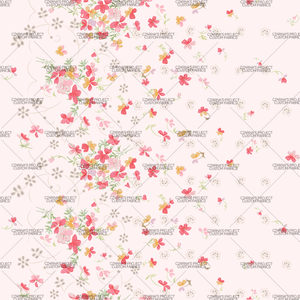 Preorder - Vintage Florals in Blush (small scale)