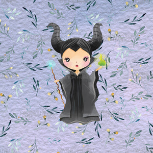 Retail - Villains Maleficent on Light Purple