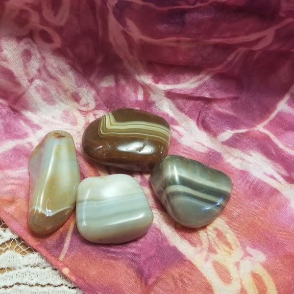 Natural Banded Agate