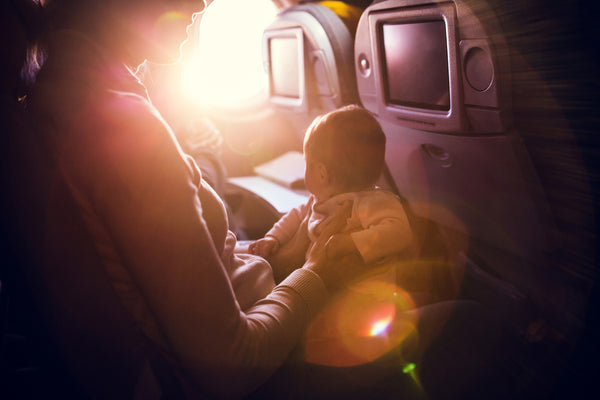 7 Tips for Surviving Baby's First Flight