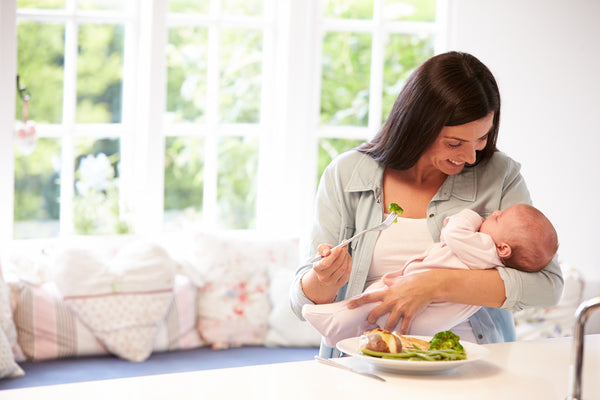 Breastfeeding a Baby With a Food Allergy