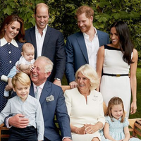 Sweet Family Photo Taken at Prince Charles' 70th Birthday