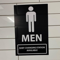 Changing Tables Now Required in Men's Rooms in New York