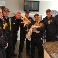 Firemen Go Above And Beyond For New Mom Who Called 911