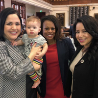 Texas Representative Brings Baby To Work With Her At The Capitol