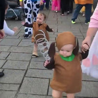 This Baby Slinky Dog Halloween Costume Will Have You in Stitches!