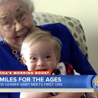 When the Original Gerber Baby Met the New Gerber Baby