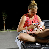Hurricane Victims Living with Newborn Son in Walmart Parking Lot