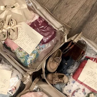 The Ultimate Baby Clothing Storage Tip from Joanna Gaines
