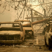 Familes Displaced Due to California Wildfires